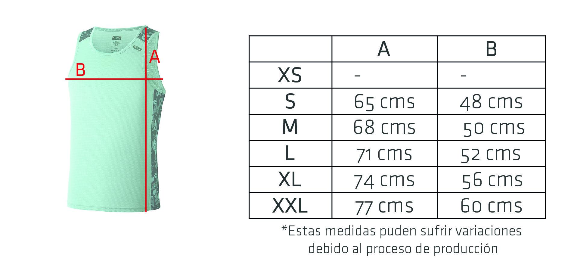 Camiseta Tecnica 42k Ares Summer Man Medidas 1 1