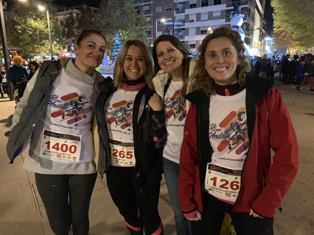 Corriendo con Andrés en la Carrera Nocturna 2