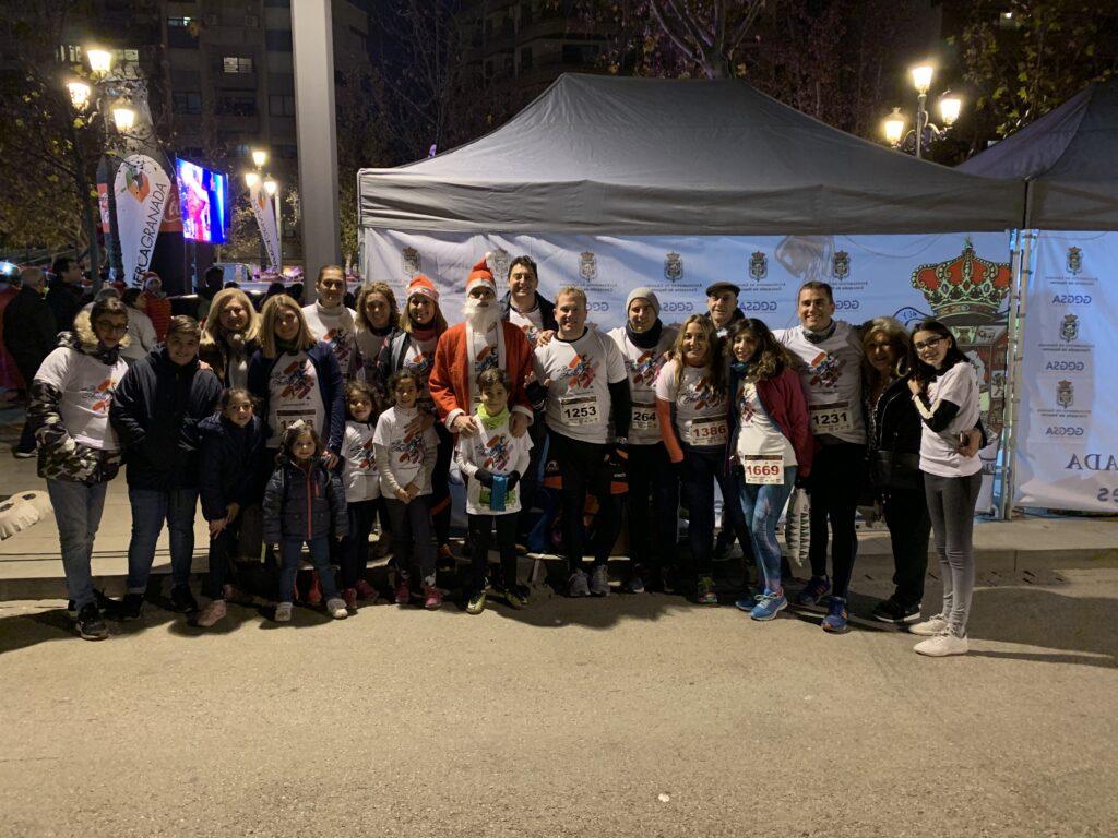 Corriendo con Andrés en la Carrera Nocturna 5