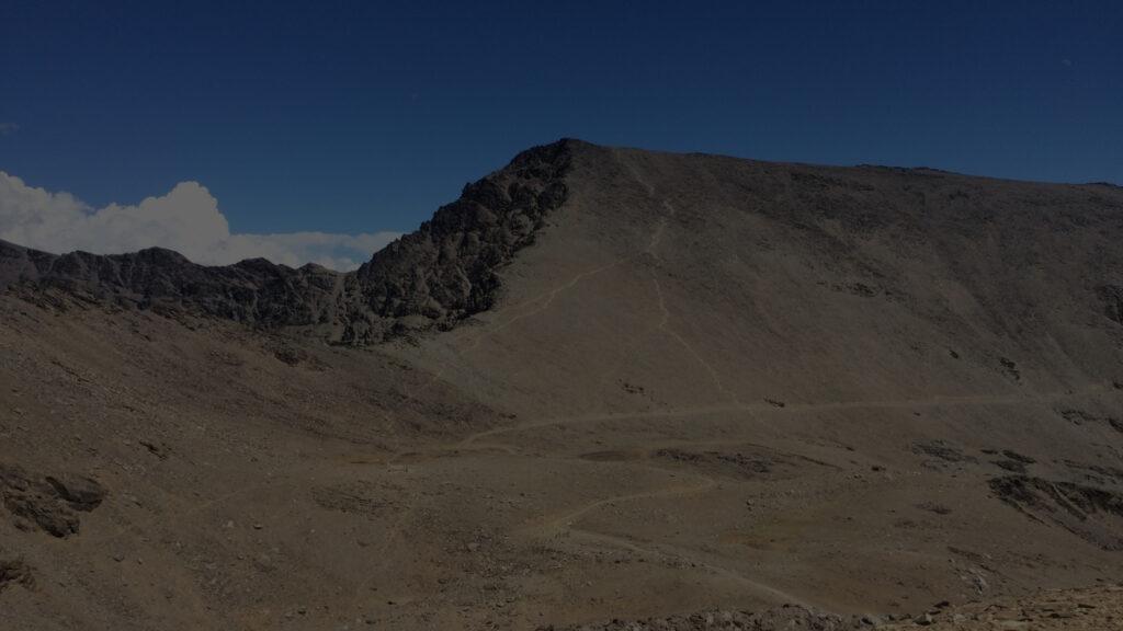 Pico de Sierra Nevada donde Andrés disfrutaba de la montaña