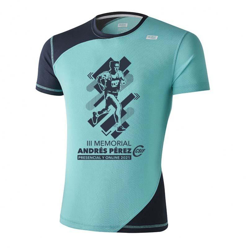 Camiseta 42k Zenith Angel Blue Manga Corta
